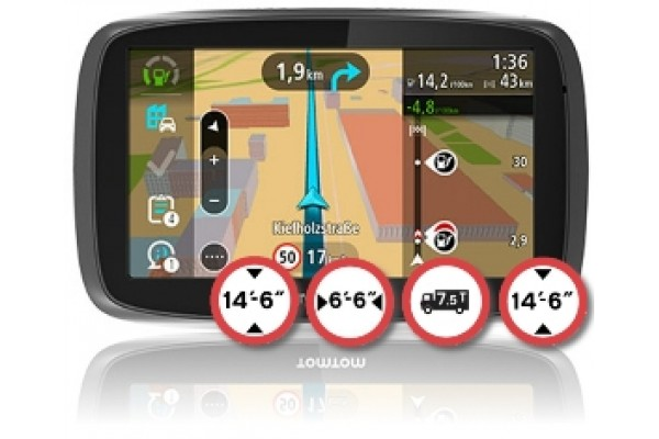 tomtom trucker 6000 lifetime maps eutomtom gps. Black Bedroom Furniture Sets. Home Design Ideas